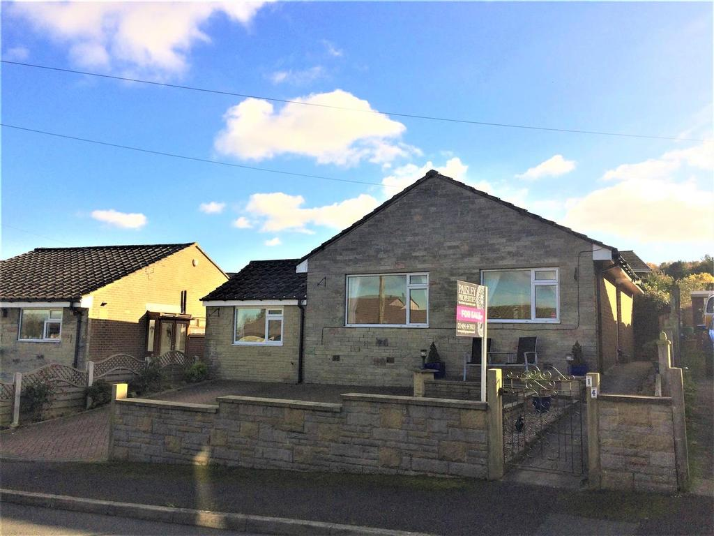 4 Bedrooms Detached Bungalow for sale in Moor Top Avenue, Thurstonland, Huddersfield, HD4 6YB