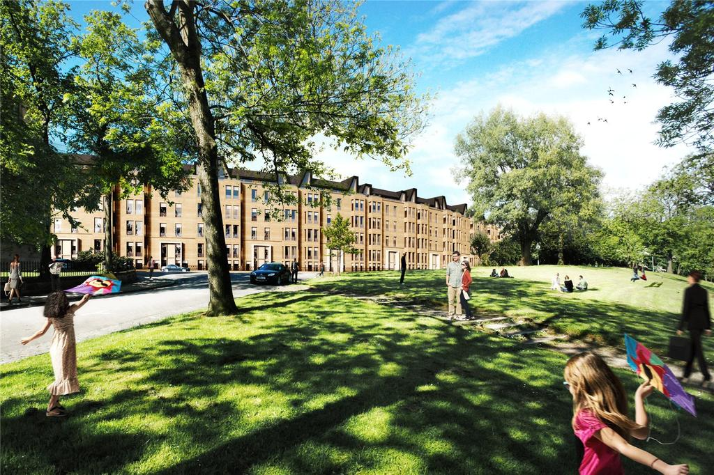 2 Bedrooms Flat for sale in Park Quadrant, Glasgow, G3