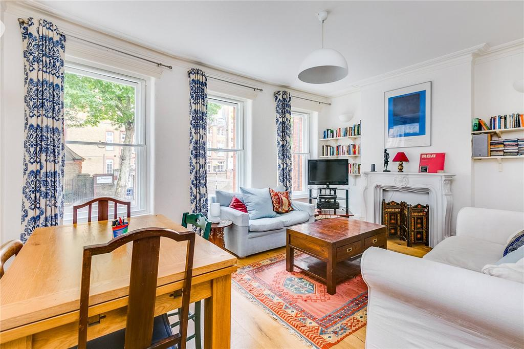2 Bedrooms Flat for sale in Churchfield Mansions, 321-345 New Kings Road, London