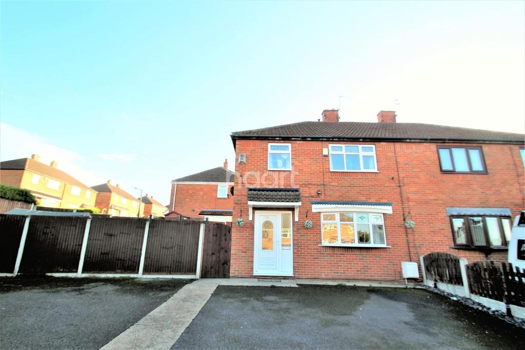 3 Bedrooms Semi Detached House for sale in Bernard Road, Edlington, Doncaster