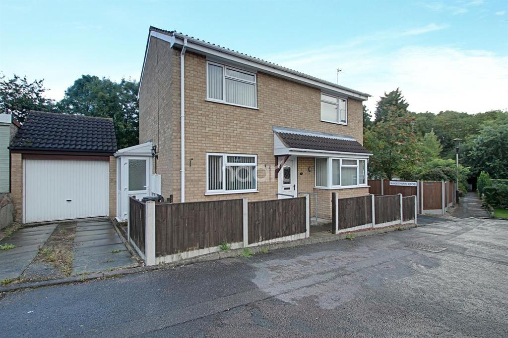 3 Bedrooms Detached House for sale in Blackthorn Drive, Anstey Heights, Leicester