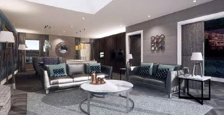 3 Bedrooms Penthouse Flat for sale in The Park Penthouse, Park Quadrant Residences, G3