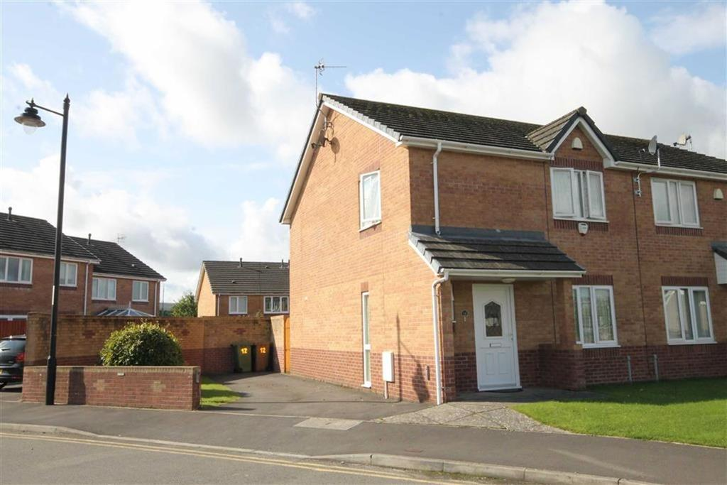 3 Bedrooms Semi Detached House for sale in Market Close, Nelson, CF46