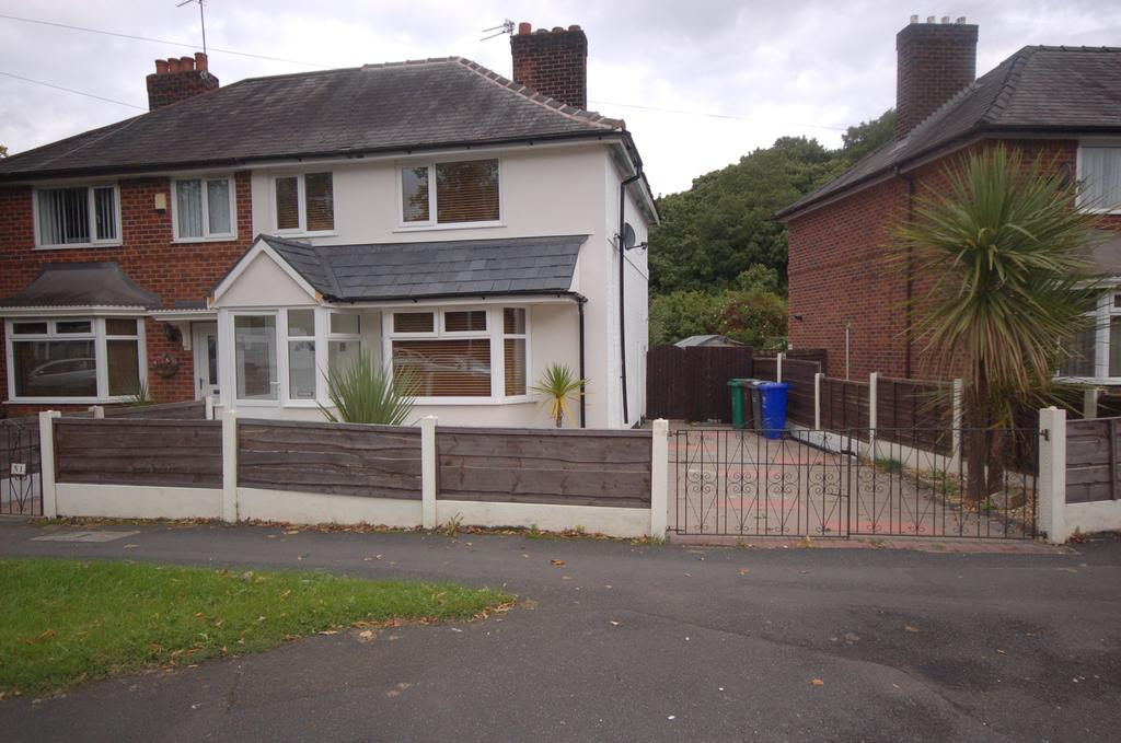 3 Bedrooms Semi Detached House for sale in Meliden Crescent, Peel Hall, Manchester M22