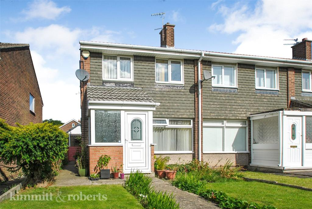 3 Bedrooms End Of Terrace House for sale in Finchale Close, Dairy Lane, Houghton le Spring, DH4