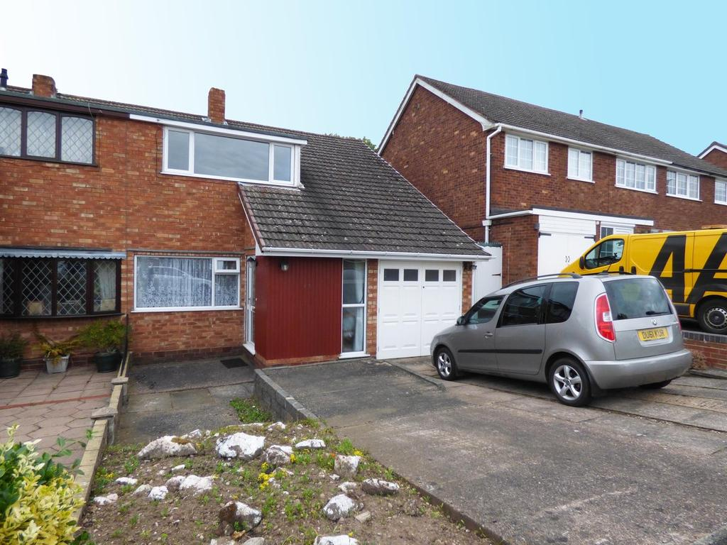 3 Bedrooms Semi Detached House for sale in 17 Highfield Avenue, Burntwood, WS7 9AW