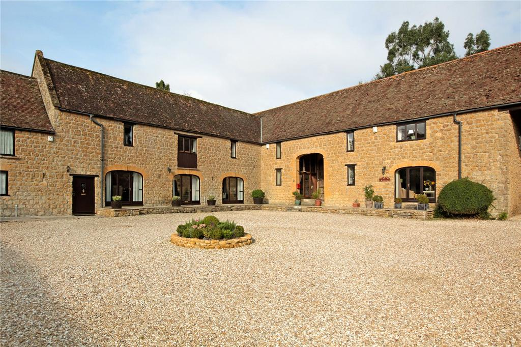 4 Bedrooms Barn Conversion Character Property for sale in The Bartons, Yeabridge, South Petherton, Somerset