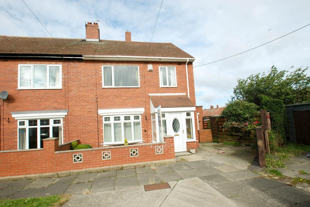 3 Bedrooms Semi Detached House for sale in Ede Avenue, South Shields