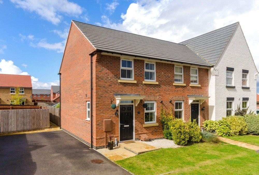 2 Bedrooms End Of Terrace House for sale in Warwick Close, Bourne, PE10