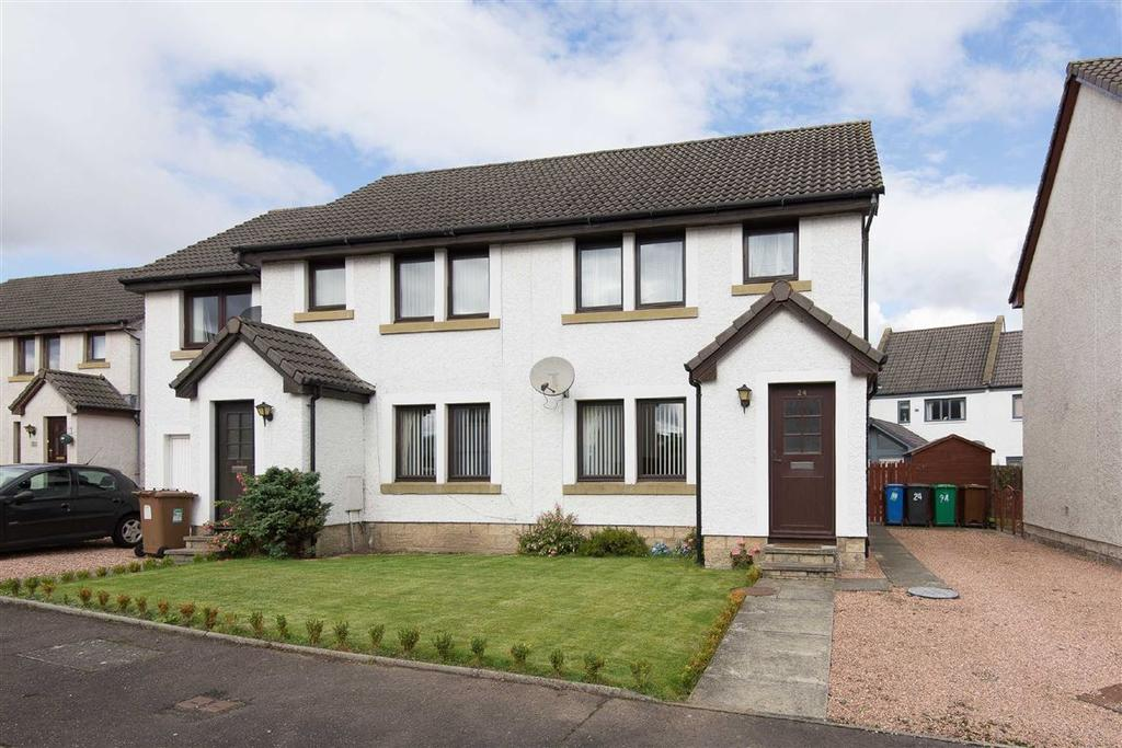3 Bedrooms Semi Detached House for sale in Eastgait Rise, Tayport