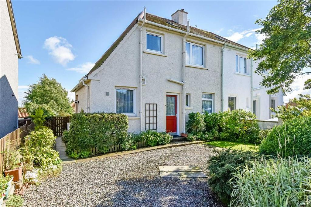 2 Bedrooms Semi Detached House for sale in Mid Street, Largoward