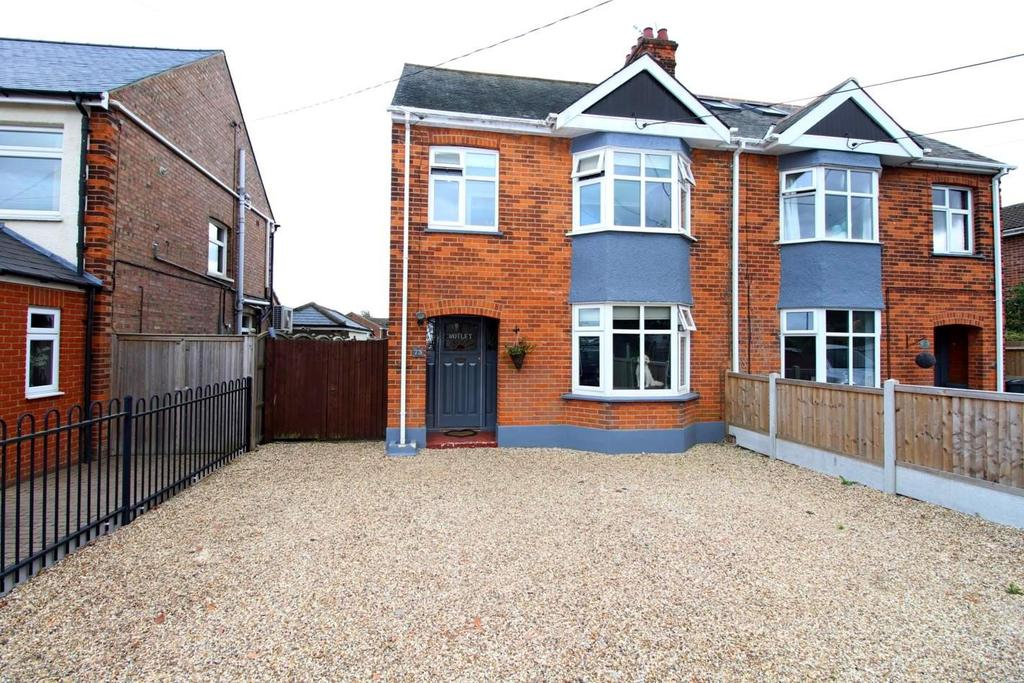 3 Bedrooms Semi Detached House for sale in Hatfield Road, Witham, Essex, CM8