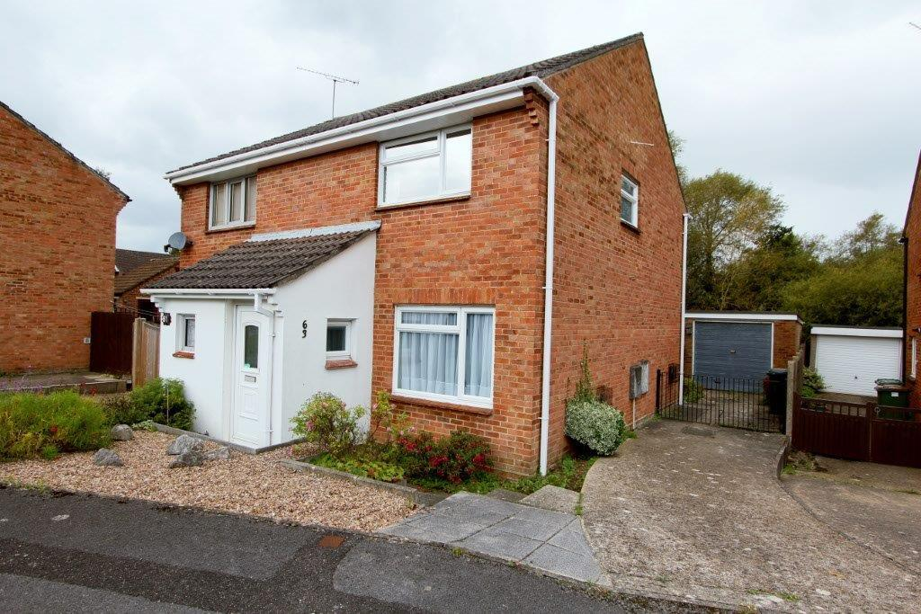 2 Bedrooms Semi Detached House for sale in Whitebeam Road, Hedge End SO30