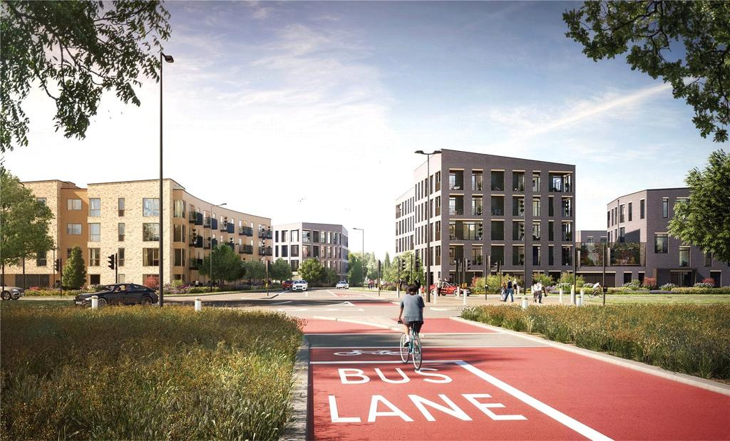 2 Bedrooms Flat for sale in Plot 15, Mosaics, Headington, Oxford, OX3