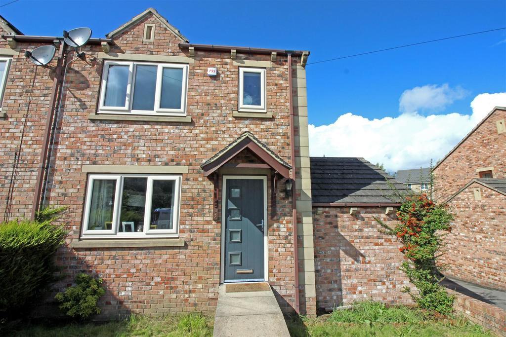 3 Bedrooms Semi Detached House for sale in 3 Haigh Row, Skelmanthorpe, Huddersfield, HD8 9TT