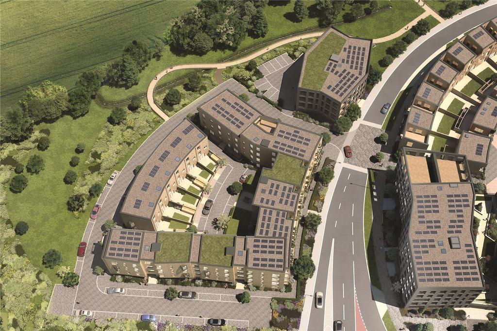 2 Bedrooms Flat for sale in Plot 21, Mosaics, Headington, Oxford, OX3