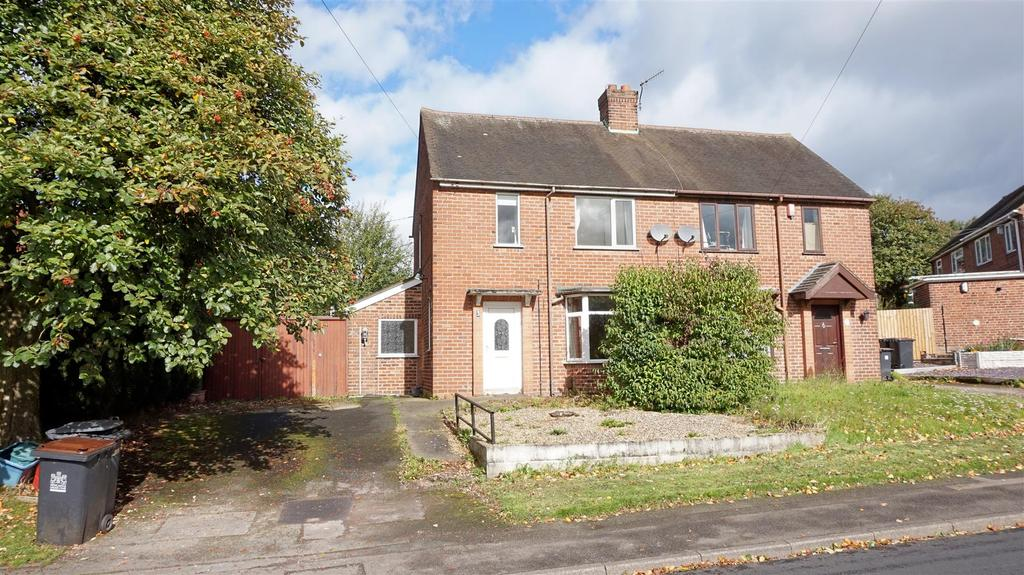 2 Bedrooms Semi Detached House for sale in Bursley Way, Bradwell, Newcastle, Staffs
