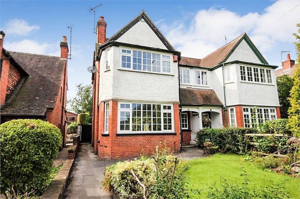 4 Bedrooms Semi Detached House for sale in Hockley Road, Uttoxeter, Staffordshire