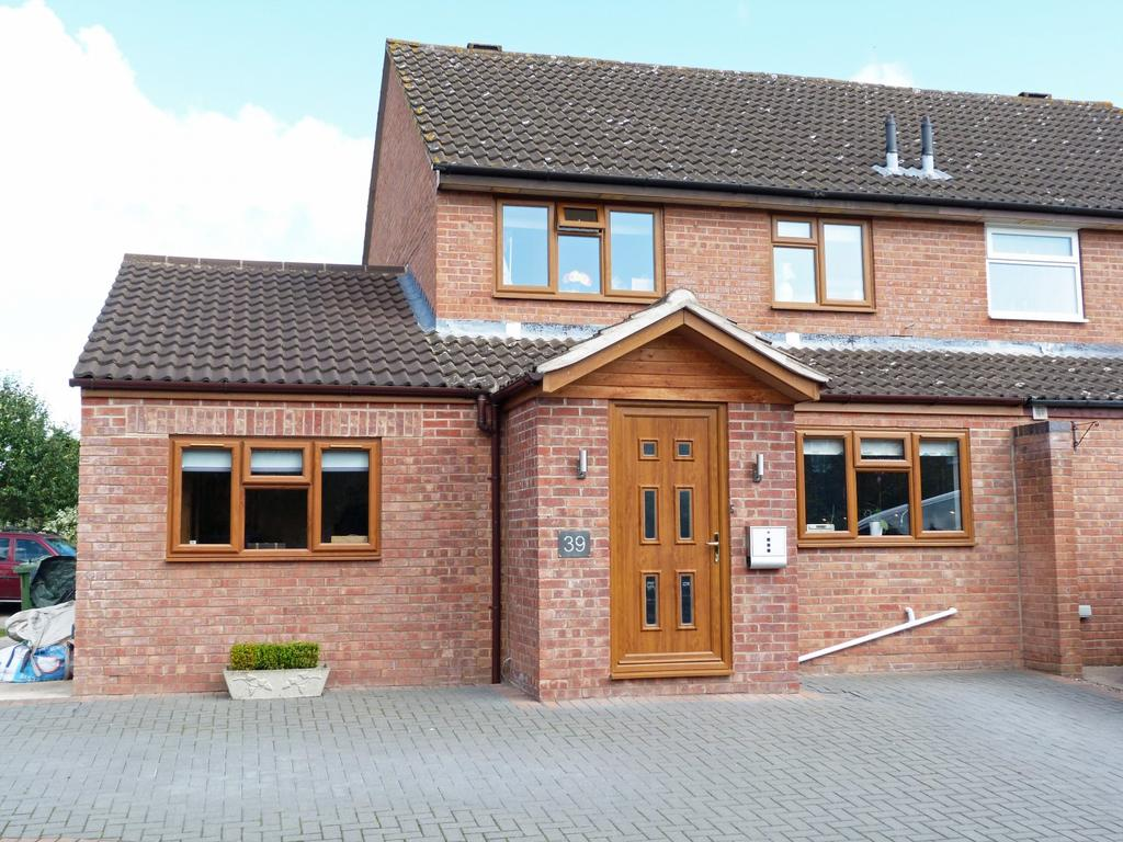 4 Bedrooms Semi Detached House for sale in Withybrook Close, Lower Bullingham, Hereford, HR2