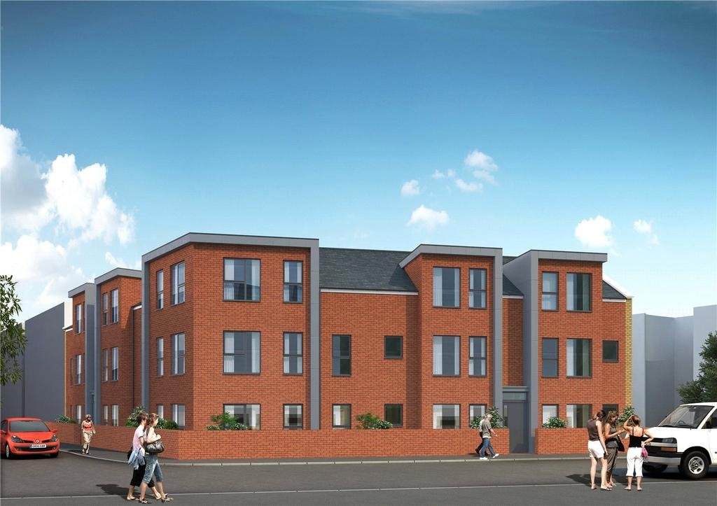 Studio Flat for sale in Forester House, 35 Marlborough Road, Watford, Hertfordshire, WD18