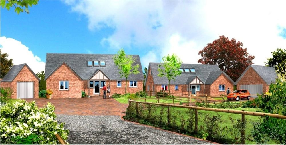 3 Bedrooms Detached House for sale in Three Ashes, St Weonards, Herefordshire