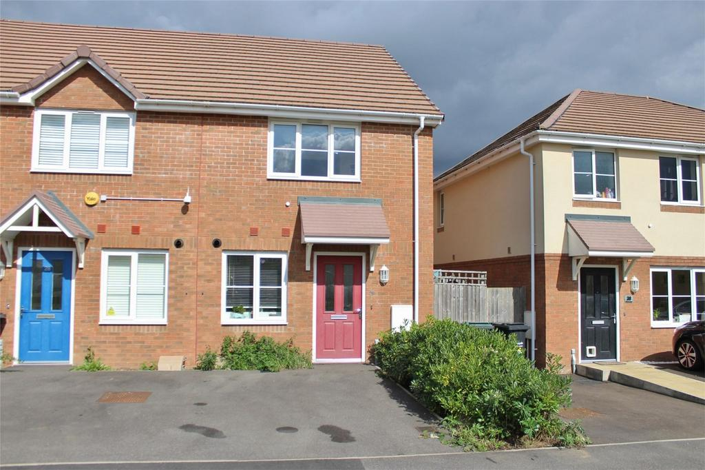 2 Bedrooms End Of Terrace House for sale in Verde Close, Luton, Bedfordshire