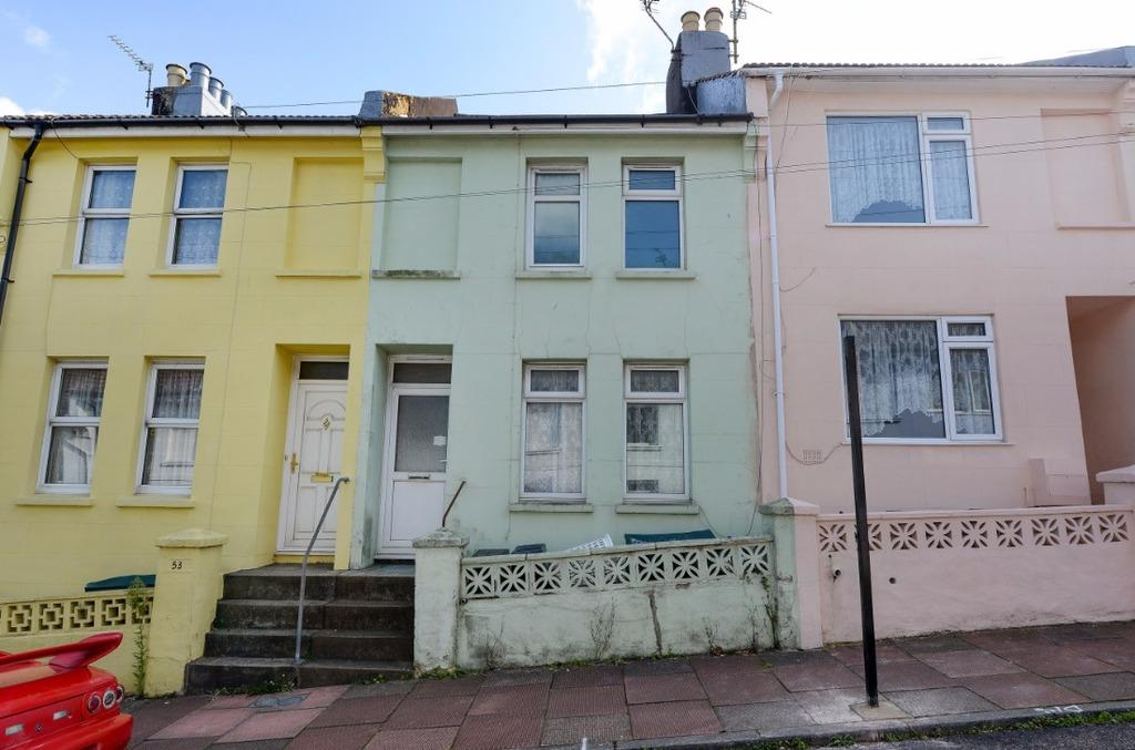 3 Bedrooms Terraced House for sale in Arnold Street Brighton East Sussex BN2
