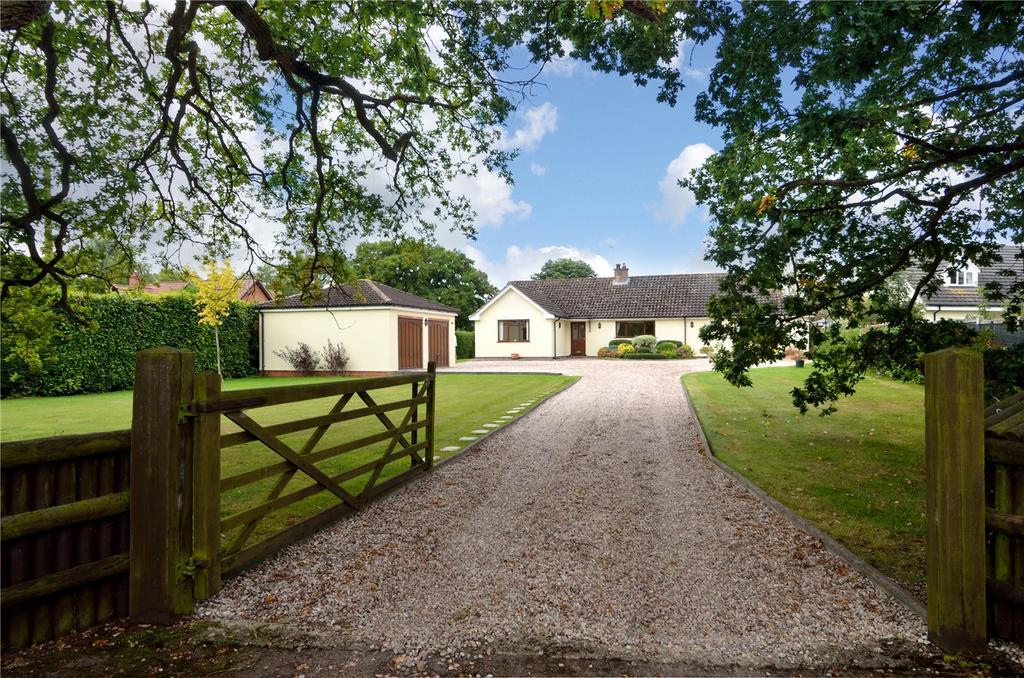 3 Bedrooms Detached Bungalow for sale in Dormston, Worcester, Worcestershire