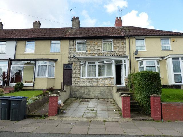 3 Bedrooms Terraced House for sale in Brookvale Park Road,Erdington,Birmingham