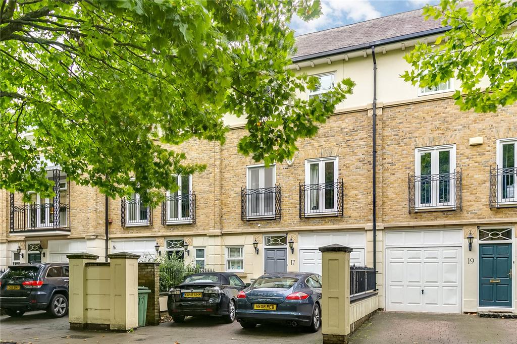 4 Bedrooms Terraced House for sale in Wyatt Drive, Barnes, London