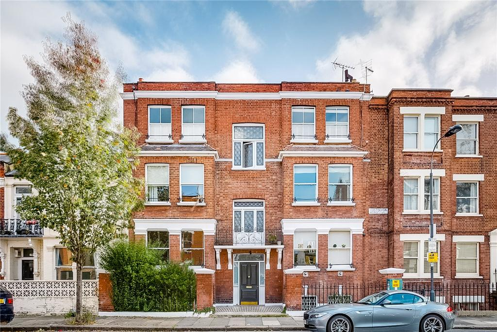 3 Bedrooms Flat for sale in Hazelwood Mansions, Rostrevor Road, Parsons Green, London