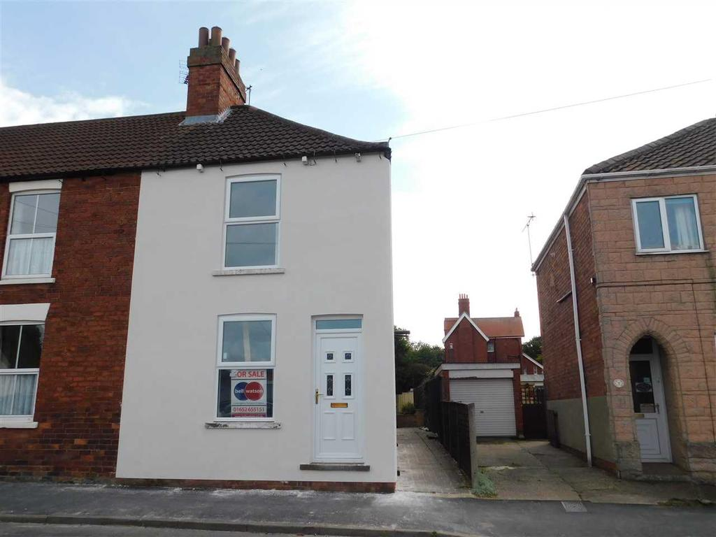 2 Bedrooms End Of Terrace House for sale in GLEBE ROAD, BRIGG, BRIGG