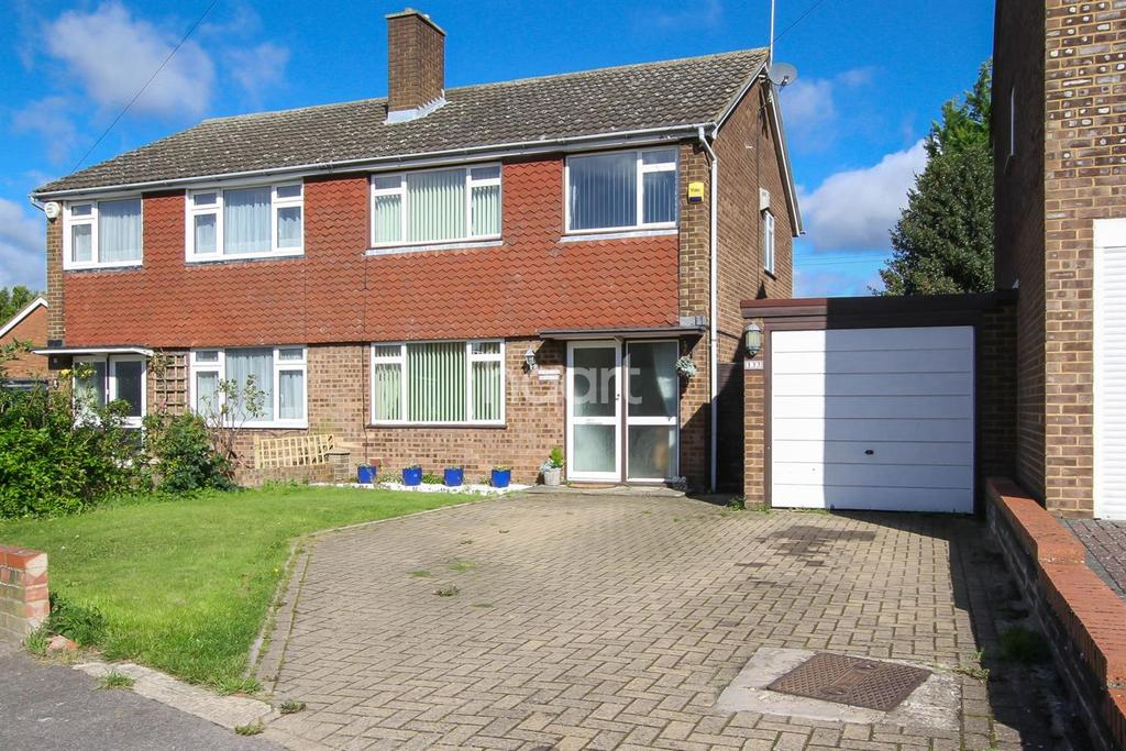 3 Bedrooms Semi Detached House for sale in Kinross Crescent, LU3