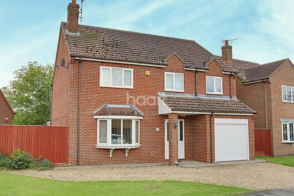 4 Bedrooms Detached House for sale in The Paddocks, Gedney