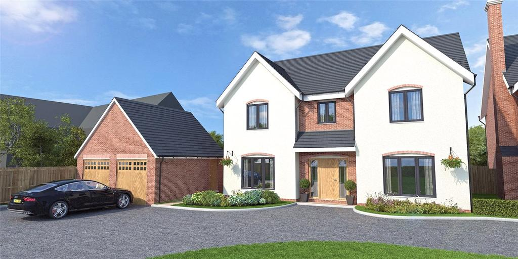 5 Bedrooms Detached House for sale in Station Road, Ditton Priors, Bridgnorth, Shropshire