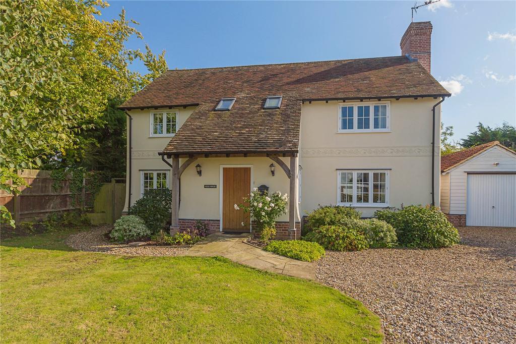 4 Bedrooms Detached House for sale in Burton End, West Wickham, Cambridge, CB21