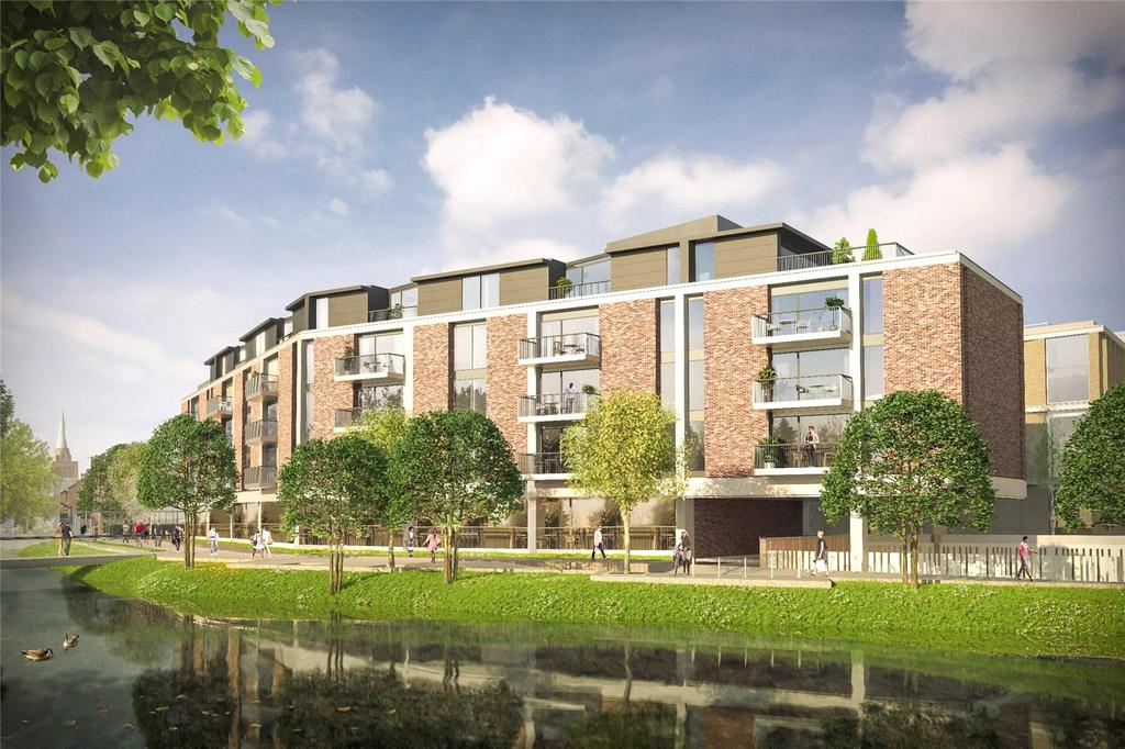 2 Bedrooms Flat for sale in Plot 7, Mill Stream House, Westgate, Oxford, OX1