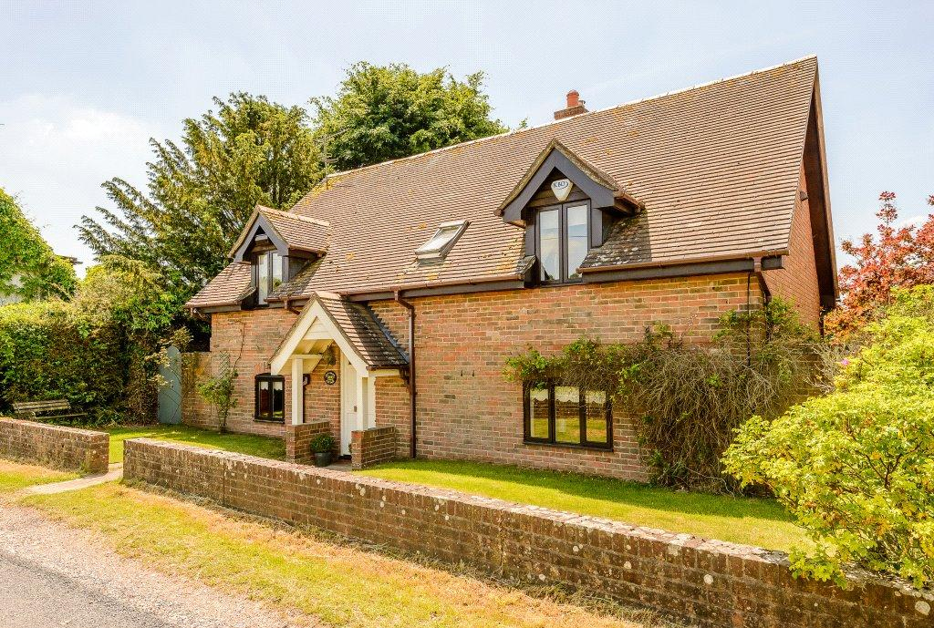 4 Bedrooms Detached House for sale in Soames Lane, Ropley, Alresford, Hampshire, SO24