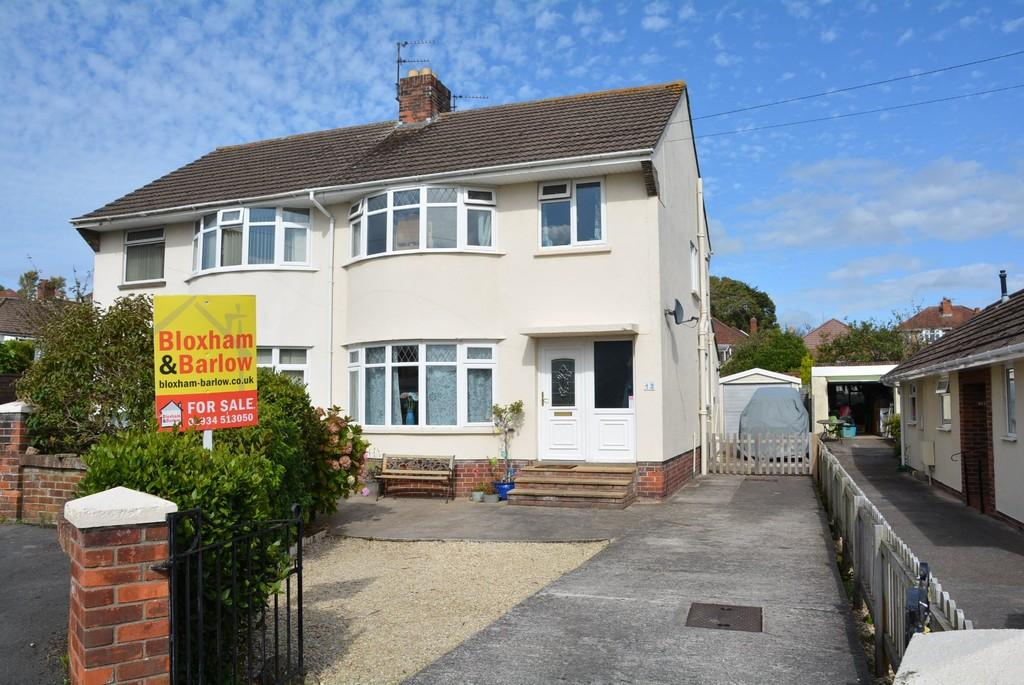 3 Bedrooms Semi Detached House for sale in Drysdale Close, Weston-super-Mare