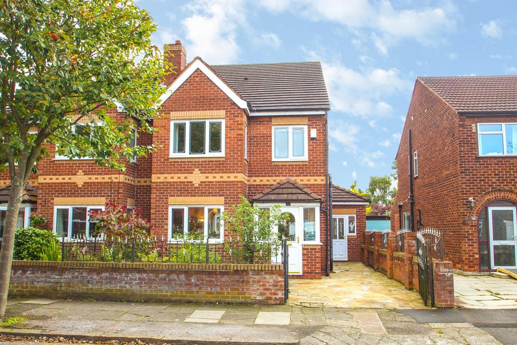 4 Bedrooms Semi Detached House for sale in Furness Road, Davyhulme, Manchester, M41