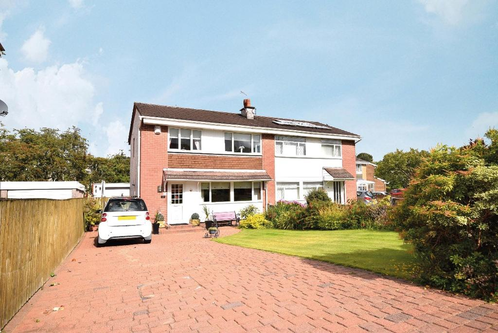 3 Bedrooms Semi Detached House for sale in Castleton Grove, Newton Mearns, Glasgow, G77 5LH