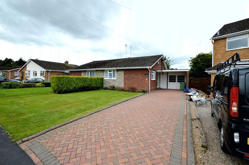 2 Bedrooms Semi Detached Bungalow for sale in Lea Vale Road, Norton, Stourbridge