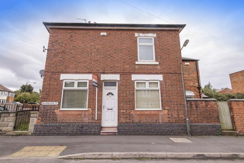 2 Bedrooms End Of Terrace House for sale in Burnside Street, Derby