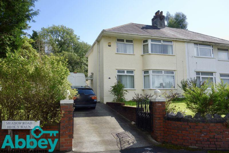 3 Bedrooms Semi Detached House for sale in Meadow Road, Neath, SA11 2AG