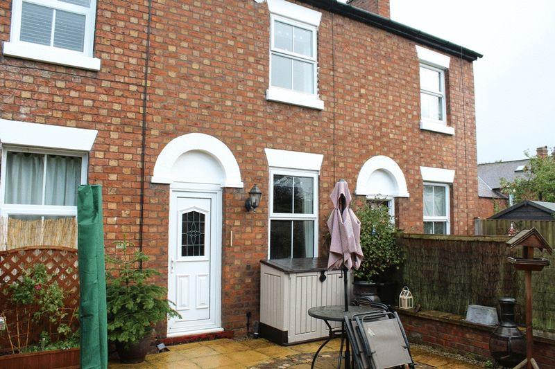 2 Bedrooms Terraced House for sale in Brook Gardens, Off Brook Street, Belle Vue, Shrewsbury, SY3 7QS