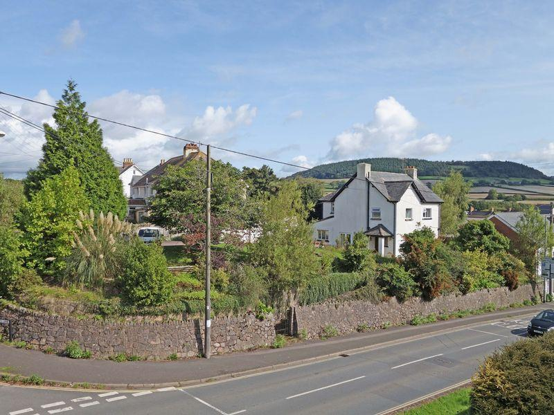 4 Bedrooms Detached House for sale in House with Building Plot - Sidford, Sidmouth