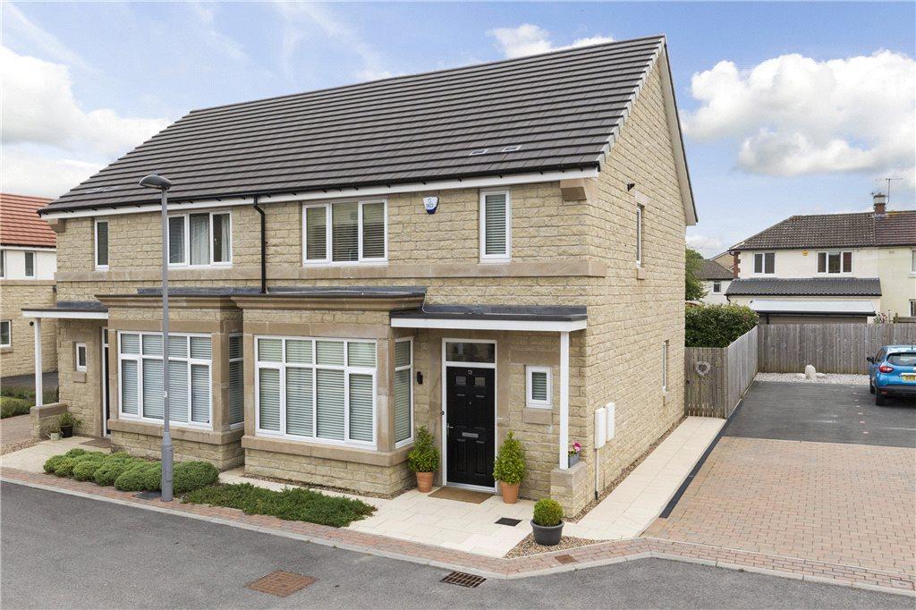 3 Bedrooms Semi Detached House for sale in Dale Croft Walk, Ben Rhydding, Ilkley, West Yorkshire