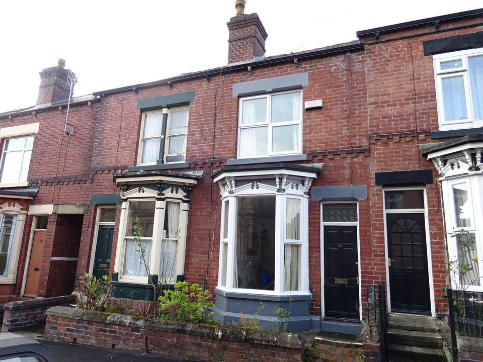 2 Bedrooms Terraced House for sale in 33 Falmouth Road, Abbeydale, Sheffield, S7 2DG