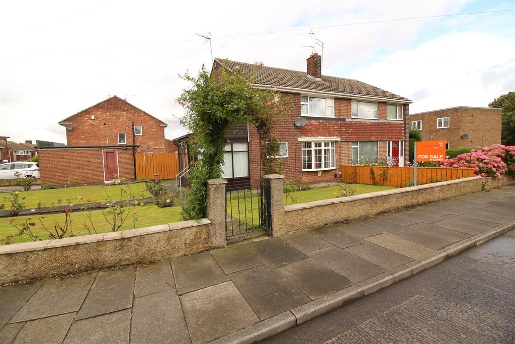 3 Bedrooms Semi Detached House for sale in Otterburn Avenue, Whitley Bay