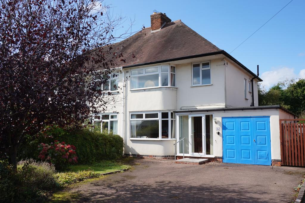 3 Bedrooms Semi Detached House for sale in Slater Road, Bentley Heath, Solihull, B93 8AG
